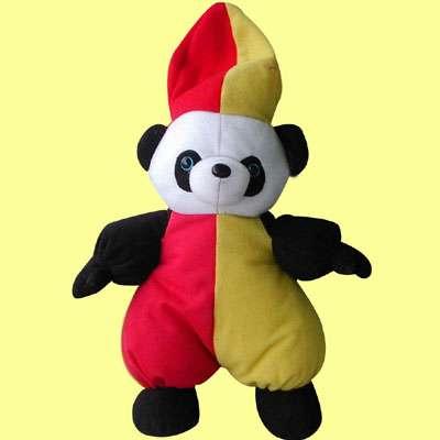 10英寸戴帽熊猫